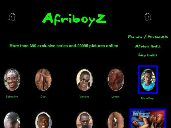 Afriboyz.com Members Area