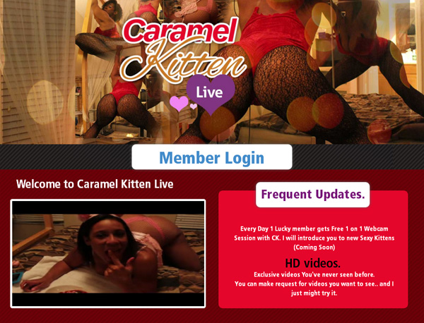 Free Porn Caramel Kitten Live