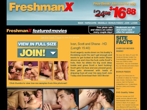 Freshman X User And Password