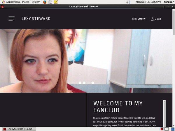Lexxy Steward Subscription