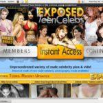 Logins For Exposed Teen Celebs V2