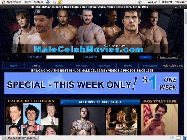 Male Celeb Movies Site Passwords