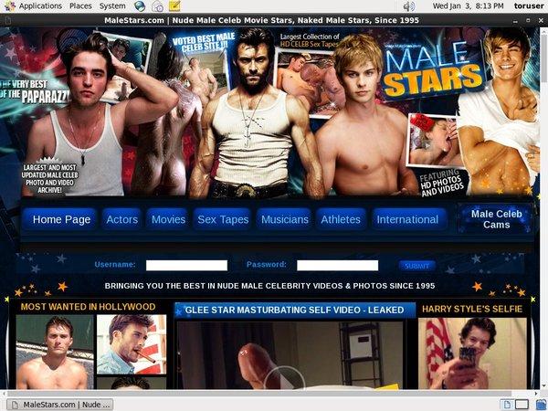 Male Stars Vend-o.com