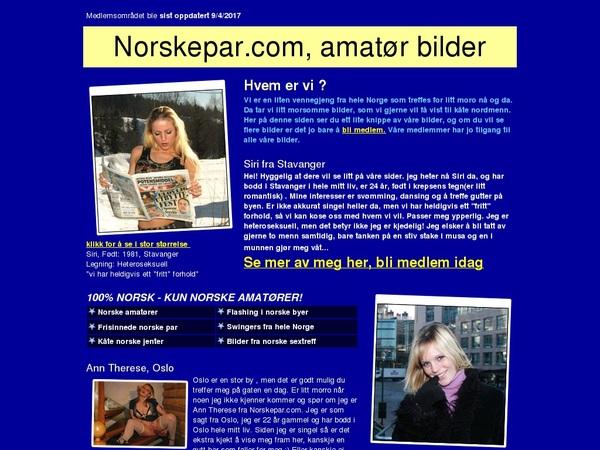 Norske Par With Bitcoin