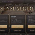 Sensual Girl Mit Sofort