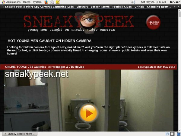 Sneaky Peek Video