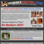 Norskejenter Password Info