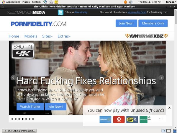 Pornfidelity.com Free Memberships