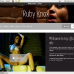 Ruby Knox Password Details