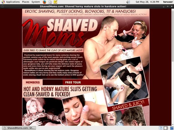 Shaved Moms Premium Accounts