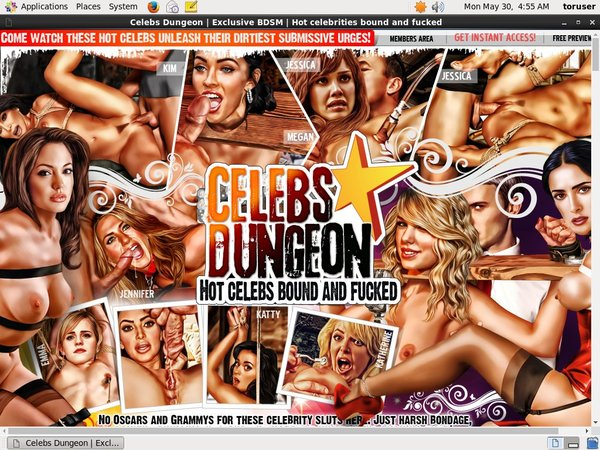 Celebsdungeon.com Account