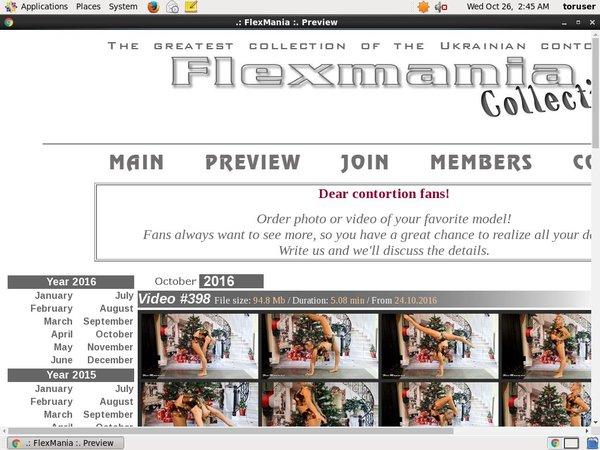 Collection Flexmania Passworter