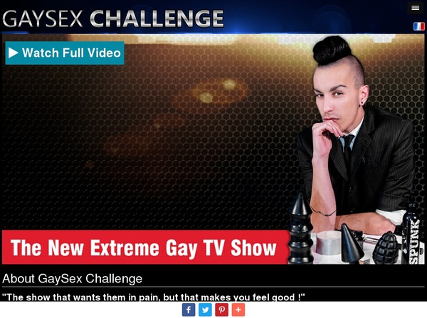 Gay Sex Challenge Dvd