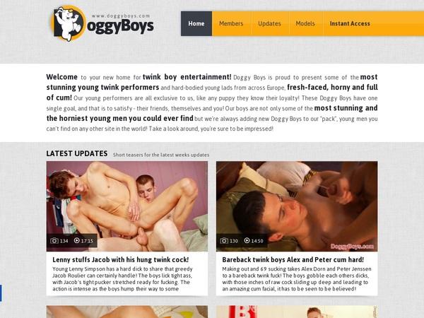 Free Doggyboys Acounts