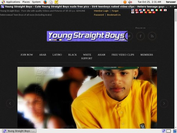 Logins For Youngstraightboys.com