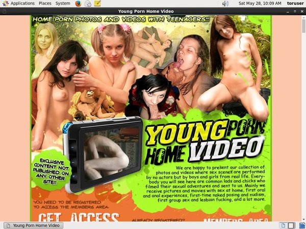 Young Porn Home Video Sale