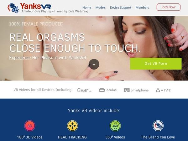 Free Yanksvr.com Membership